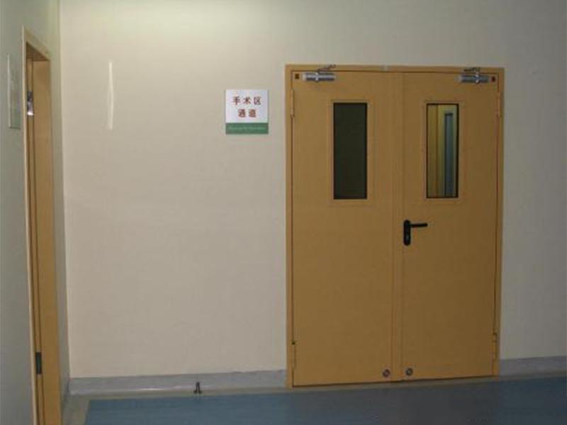 医用门的特殊性取决于它的工作原理与组成