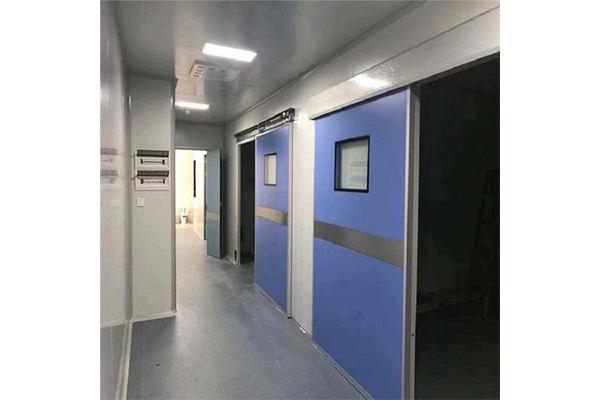 医用气密门厂家分析气密门的结构特点