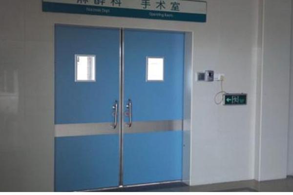 医用气密门是由几部分组建而成的